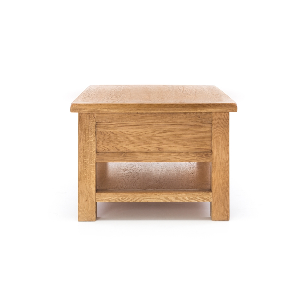 Salisbury Large Coffee Table Comes With 1 Large Drawer - Natural