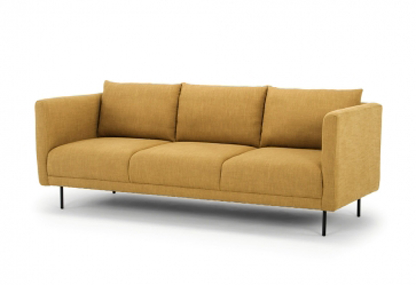 Kano Sofa 3 Seater -  Color Curry