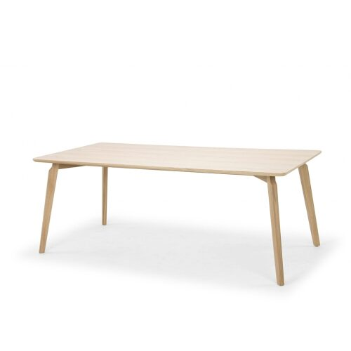 Linea Dining Table 200X100 - Natural Oak