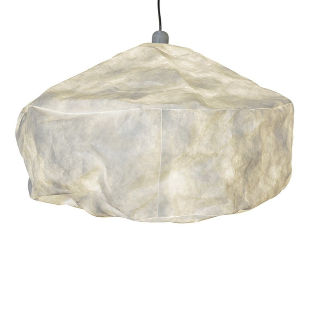Cloud Hanging Light In Parchment
