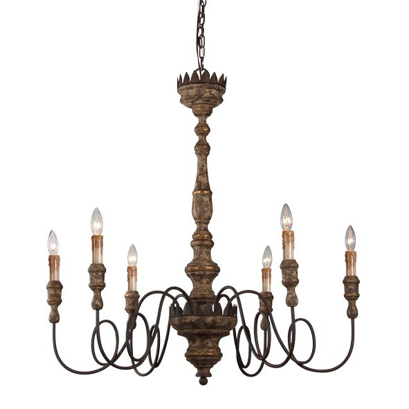 French Country Elyse Chandelier