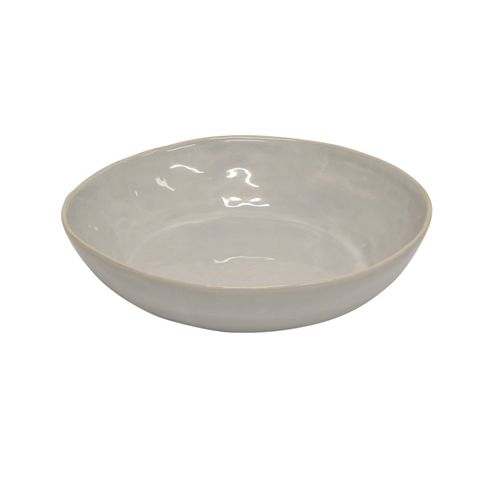 French Country Franco Medium Bowl - Rustic White