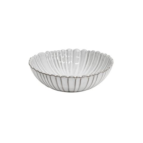 French Country Iris Fluted Soup Bowl